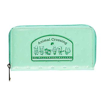 Animal Crossing Purse Patch Logo nuovo ufficiale Nintendo Green