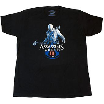 Assassin's Creed 3 Connor & Logo T-Shirt