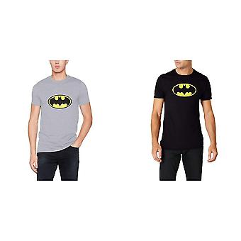 Batman unissex adultos logo design T-shirt