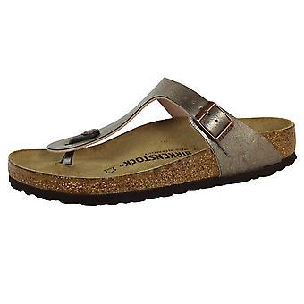 Birkenstock gizeh bs women's graceful taupe sandals