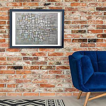 Piet Mondrian - Mondriaan No 11 Poster Print Giclee