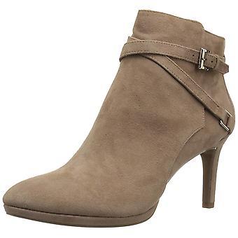 Bandolino Womens Baruffi Leather Almond Toe Ankle Fashion Boots