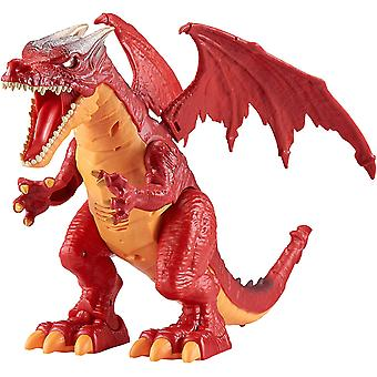 Zuru Robo Alive Fire andning drake-röd