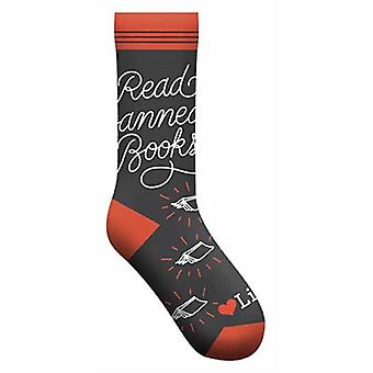 Read Banned Books Socks by Publisher Gibbs Smith