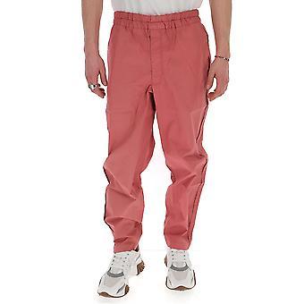 Comme Des Garçons Shirt S281804 Men's Pink Cotton Pants
