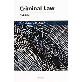 Criminal Law by Professor Timothy H Jones - 9780414065666 Book