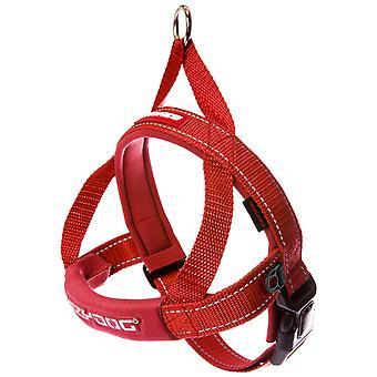 Ezydog Arnés Quick Fit Rojo (Honden , Halsbanden en Riemen , Tuigjes)