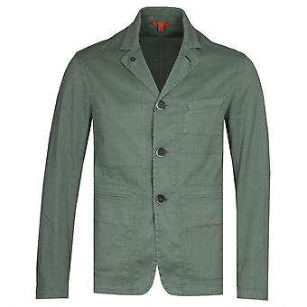 Chemise Barena Sage Green Linen Canal