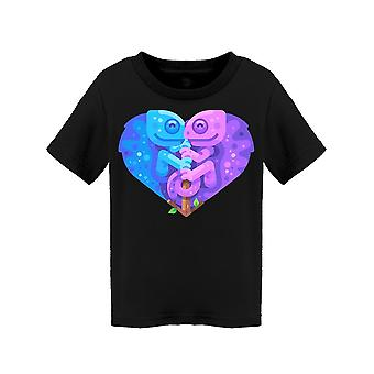 Blue And Purple Chameleons Tee Toddler's -Image by Shutterstock