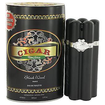 Cigar Black Wood Eau De Toilette Spray By Remy Latour 3.3 oz Eau De Toilette Spray