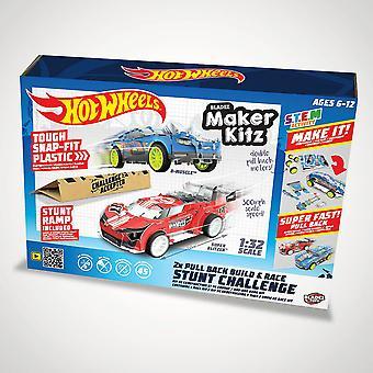 Hot Wheels Stunt Challenge Maker Kitz (Twin Pack)