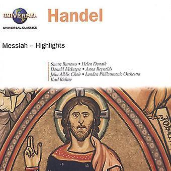 G.F. Handel - Handel: Messiah (Highlights) [CD] USA import