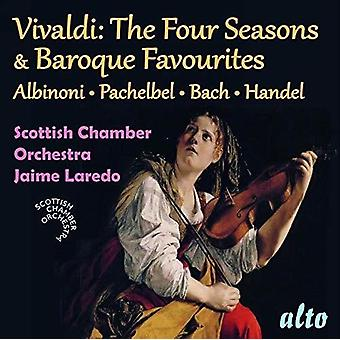 Vivaldi Four Seasons / Baroque Favourites [CD] USA import