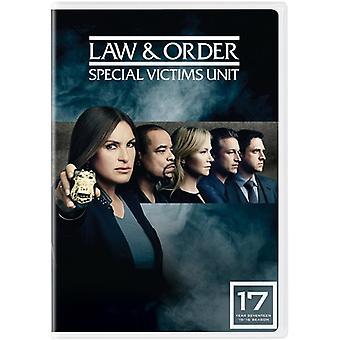 Law & Order: Importazione Unità vittime speciali - XVII [DVD] Stati Uniti d'America