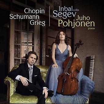 Chopin / Segev - Cello Sonata in G Minor [CD] USA import