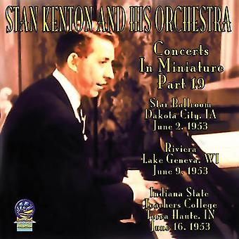 Stan Kenton & His Orchestra - Concerts in Miniature [CD] USA import