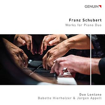 Works For Piano Duo [CD] USA import