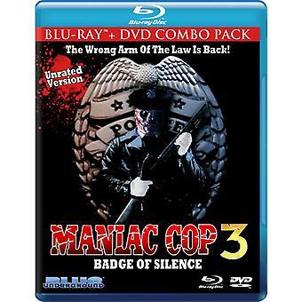 Maniac Cop 3: Badge of Silence [BLU-RAY] USA import