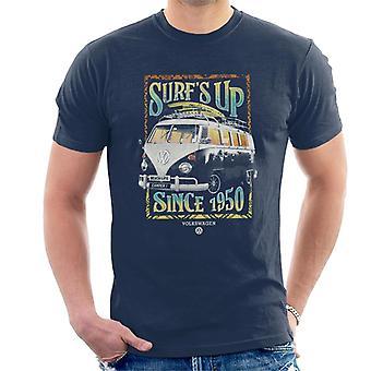 Volkswagen Surfs Up Sinds 1950 Heren's T-shirt