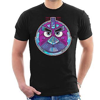 Angry Birds Mech Bird Round Men's T-Shirt