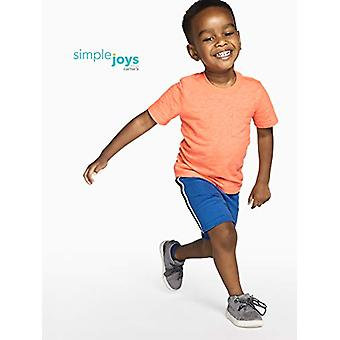 Simple Joys by Carter's Baby Boys' Toddler 3-Pack Mesh Shorts, Blue, Orange, ...