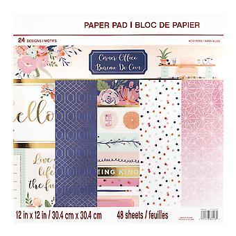 Craft Smith Corner Office 12x12 Inch Paper Pad
