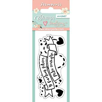 Timbres label Stamperia Clear