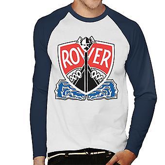 Rover Viking Longship British Motor Heritage Men's Baseball Long Sleeved T-Shirt