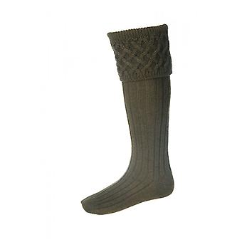 House of Cheviot Country Socks Rannoch ~ Bracken