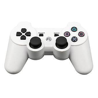 Material Certificado® Controlador de Jogos para PlayStation 3 - PS3 Bluetooth Gamepad White