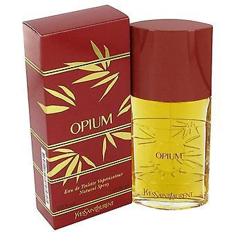 Oopiumi eau de parfum spray mennessä yves saint laurent 30 ml