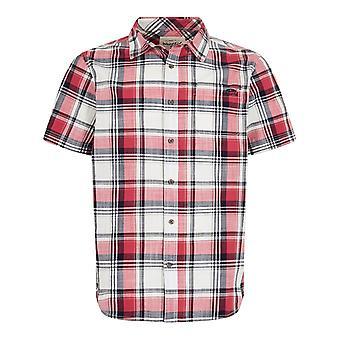 Modbury Kortärmad rutig skjorta