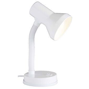 Lampada BRILLIANT Junior Lampada da tavolo Bianco 1x R80, E27, 40W, adatto per lampade a riflettore (non incluso) Scala A