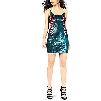 Guess | Juju Sequined Floral-Print Dress