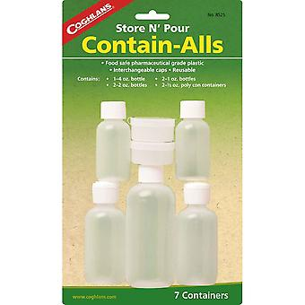 Coghlans bevatten Alls Plastic Containers (C8525)