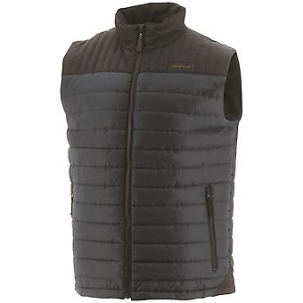 Caterpillar Mens Squall Quilted Insulated Vest Body Warmer