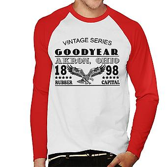Goodyear Vintage Series Men''s Baseball Long Sleeved T-Shirt