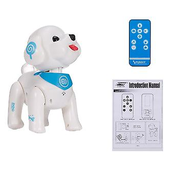 Electronic Animal Pets, Rc Robot Dog With Voice - Remote Control Music Song Toy