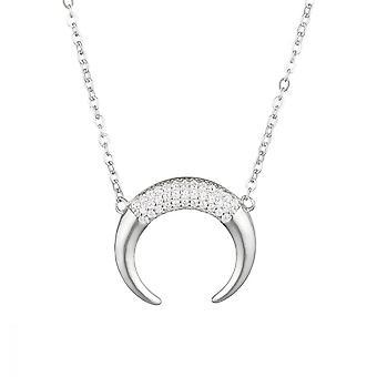 Silber Halskette 925 und Zirconium