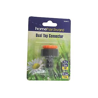 Home Gardener Dual Tap Connector HH4611