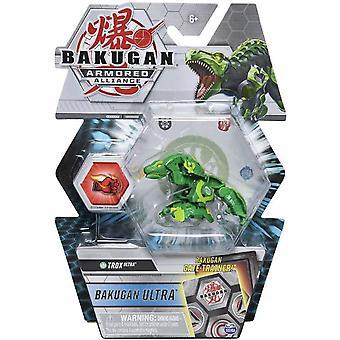 Deluxe Bakugan Ultra 1 Pack 3 Inch Figuur Trox Ultra (Ventus)