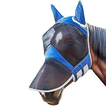 Hyttysten torjunta Koko kasvot SuojaverkkoNaamio hevoselle