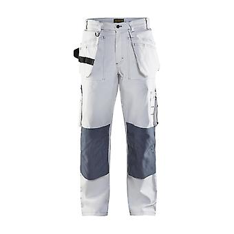 Blaklader 1531 white painters trousers - mens (15311210)