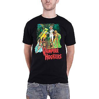 Plan 9 T Shirt Vampire Hookers Movie poster new Official Mens Black