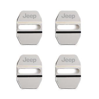 Car Door Lock Cover Auto Emblemen Voor Jeep Grand Cherokee Commander Renegade