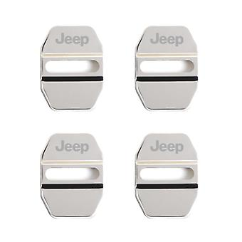 Car Door Lock Cover Auto Emblems For Jeep Grand Cherokee Commander Renegade
