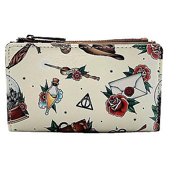 Loungefly x Harry Potter Tattoo Icons Clutch Purse