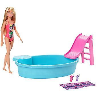 Barbie Docka och Pool Playset