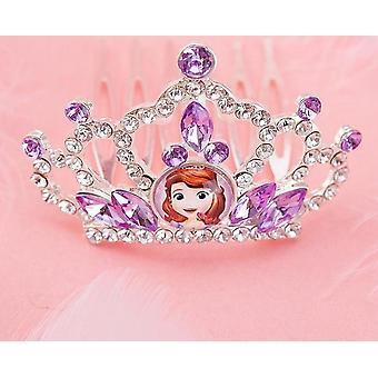 Disney Frozen Princess Crown, Sofia, Ariel, Anna, Elsa Crown Heart Jewel