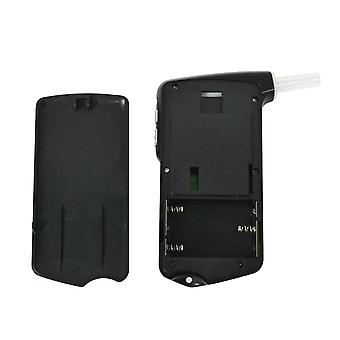 Professional digitaalinen lcd-näyttö breathalyzer alkoholitestaaja (musta)
